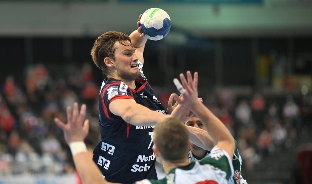 Magnus Rød wird wie Simon Hald auf die Zähne beißen und der SG Flensburg-Handewitt auch beim TVB Stuttgart zur Verfügung stehen.  ( Tim Riediger)