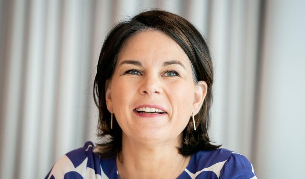 De seneste tre uger har tæret hårdt på tilliden til De grønnes kanslerkandidat, Annalena Baerbock.    (Kay Nietfeld/dpa)