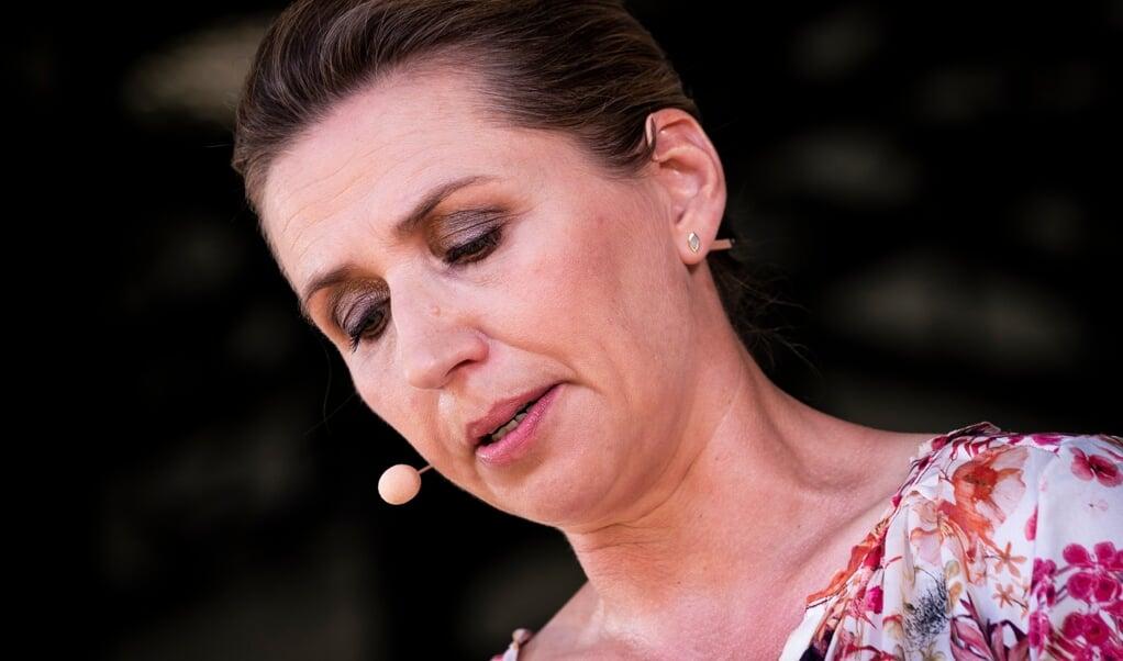 Sorgen og savnet vil aldrig forsvinde, siger Danmarks statsminister Mette Frederiksen.   ( Ida Marie Odgaard/Ritzau Scanpix)