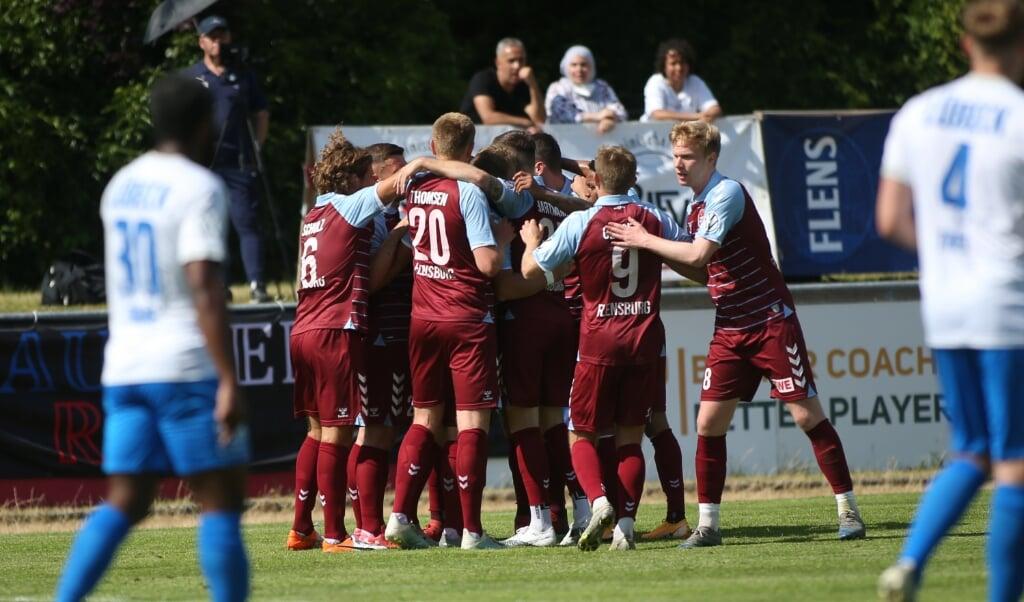 Der SC Weiche Flensburg 08 hätte auch gerne am 7. August guten Grund zum Jubeln.  (Archivfoto)