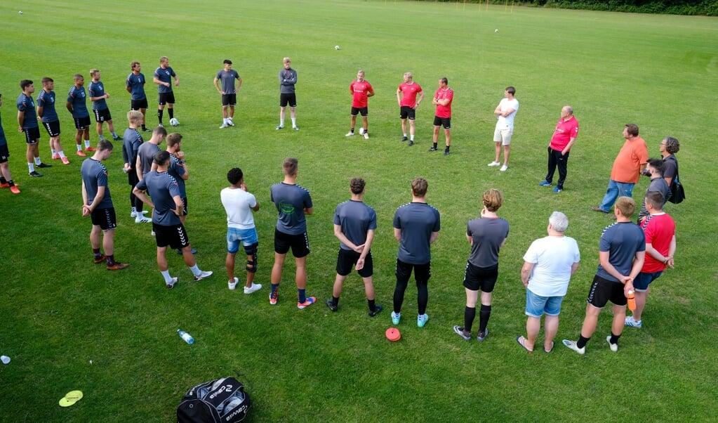Der SC Weiche Flensburg 08 kommt erst am Sonnabend zu seinem ersten Testspiel der Vorbereitung.  ( Martin Ziemer)