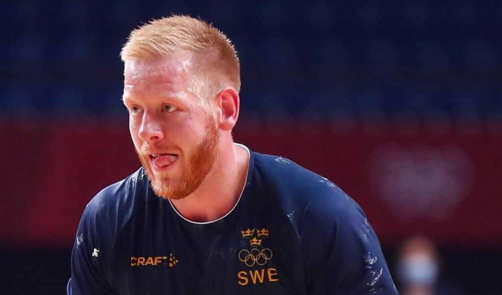 Jim Gottfridsson steht mit Schweden im Viertelfinale von Tokio.  ( IHF)