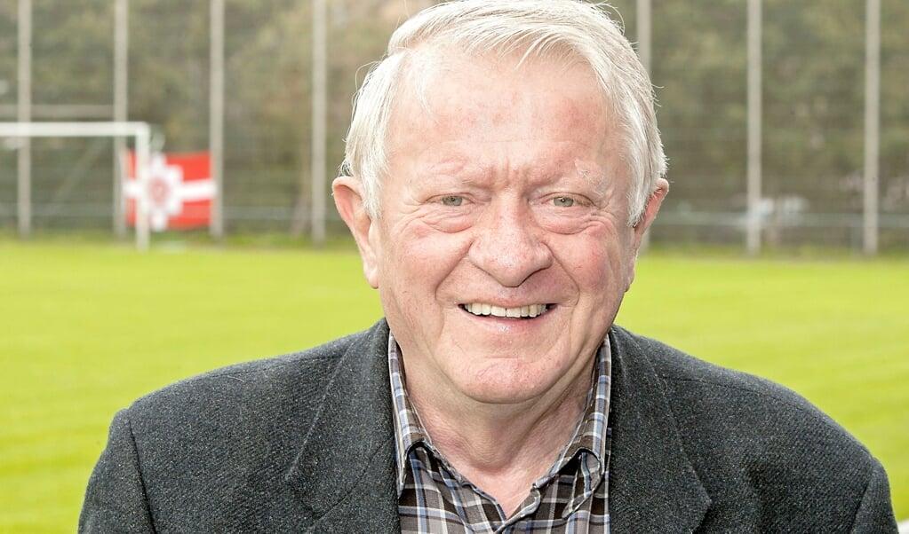 Dieter Lenz på fodboldbanen ved DGF.   (Arkivfoto: Lars Salomonsen)