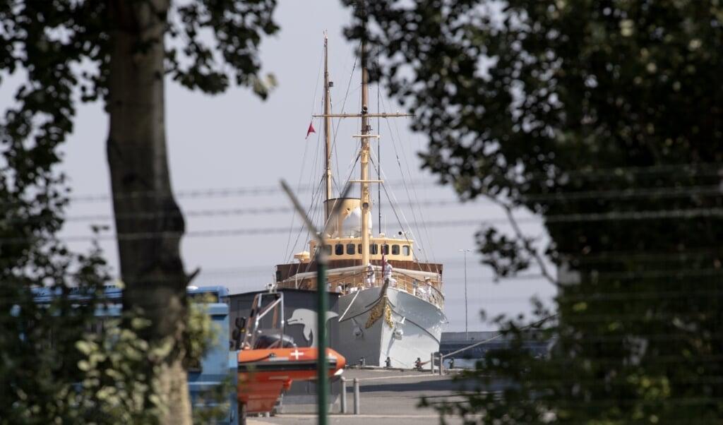 Årsagen til problemerne med de to hovedmotorer på kongeskibet