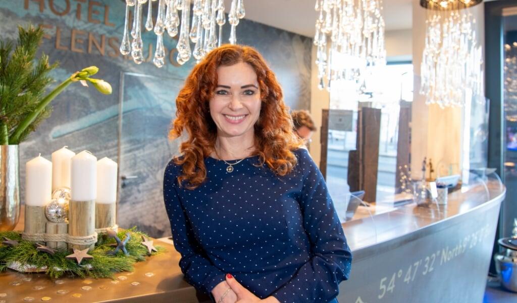 Kirsten Herrmann, direktør Hotel Hafen Flensburg, mangler også ansatte.  ( Tim Riediger)