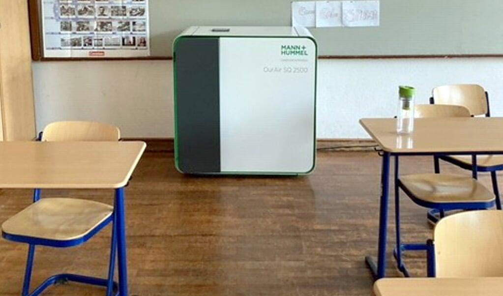 De færreste skoler i Slesvig-Holsten vil være udstyret med luftfilteranlæg, når det nye skoleår starter på mandag.   (Henning, Otte, dpa)
