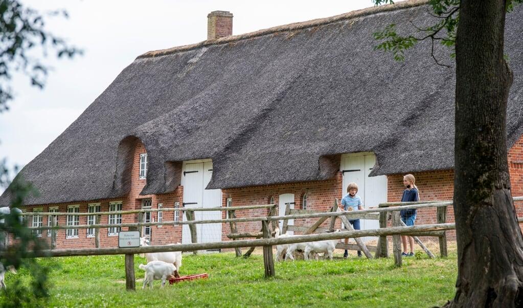 Gården fra Borsbøl i Nordfrisland var en nyskabelse ved opførslen i 1770. Normalt var gavlene ladeporte. Her kunne alle gøremål udføres fra facaden.  Tim Riediger  (Tim Riediger)