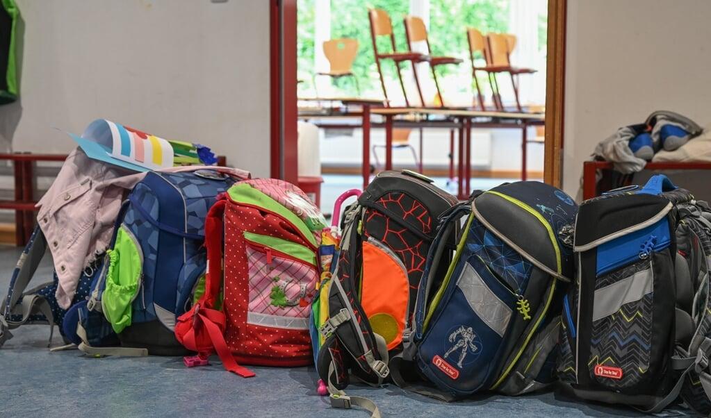 Sommerferien slutter denne weekend, og på mandag er det første skoledag for Sydslesvigs 5700 skoleelever. De starter op med krav om test og mundbind.  ( Arne Dedert/dpa)