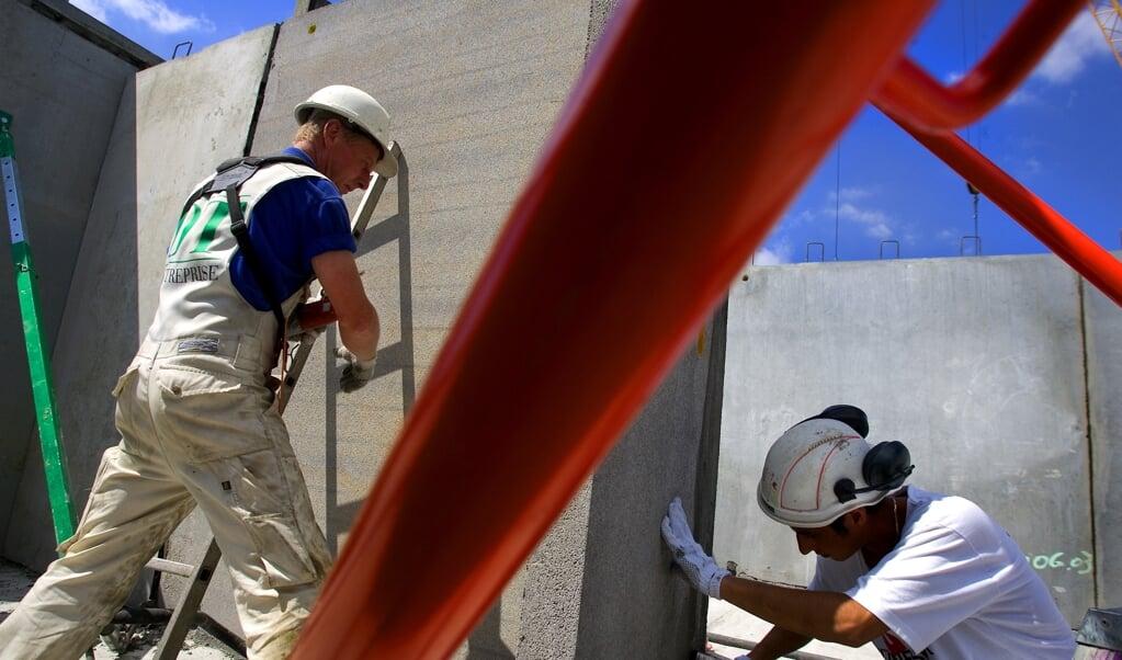 Inden for blandt andet byggeriet er der lige nu efterspørgsel på medarbejdere, viser jobopslag hos Jobindex. (Arkivfoto)  (Søren Bidstrup/Ritzau Scanpix)