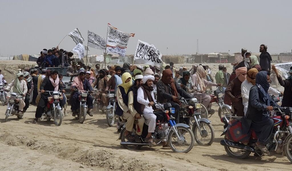 Taliban er på fremmarch i Afghanistan og det kan blive farligt for dem, der har hjulpet internationale styrker som de danske.  (Tariq Achakzai/Ritzau Scanpix)