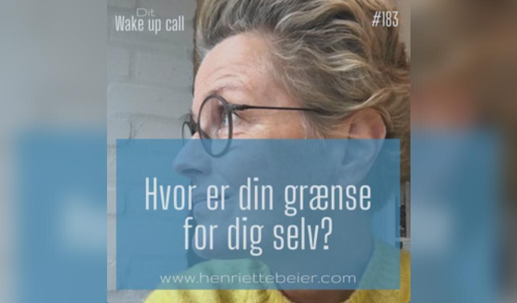 Overholder du dine egne grænser?, sådan lyder spørgsmålet fra sundhedscoach Henriette Beier, der har klinik i Lyksborg.  (Screenshot/Henriette Beier)