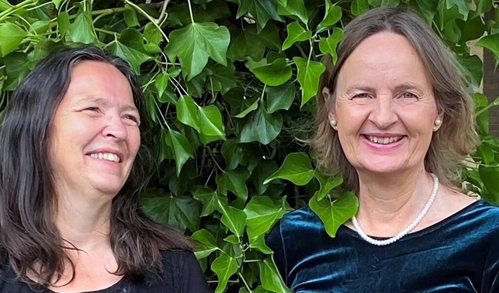 Maria Johannsen og Malou Reitberger opdagede ved deres første møde i foråret deres fælles passion for Richard Strauss-sangene.  (Privatfoto)