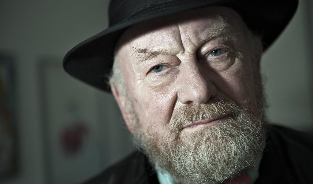Satiretegneren er død efter længere tids sygdom. Han blev 86 år. (Arkivfoto)  (Henning Bagger/Ritzau Scanpix)