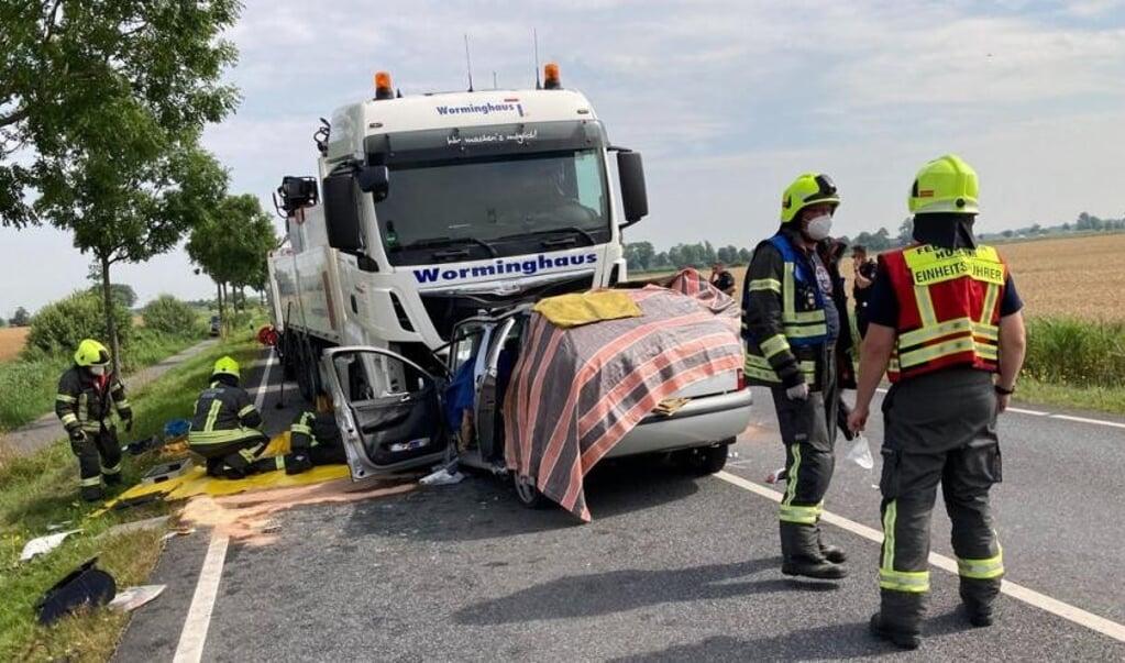 Muligvis var et ildebefindende forklaringen på, at den 79-årige kørte over i den modsatte vejbane.    (Helmuth Möller.)