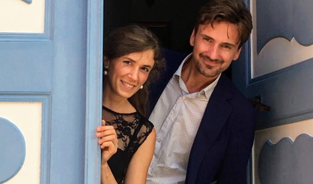 Ida Riegels og Frederik Munk Larsen er i god form - fysisk som musikalsk.  (Privatfoto)