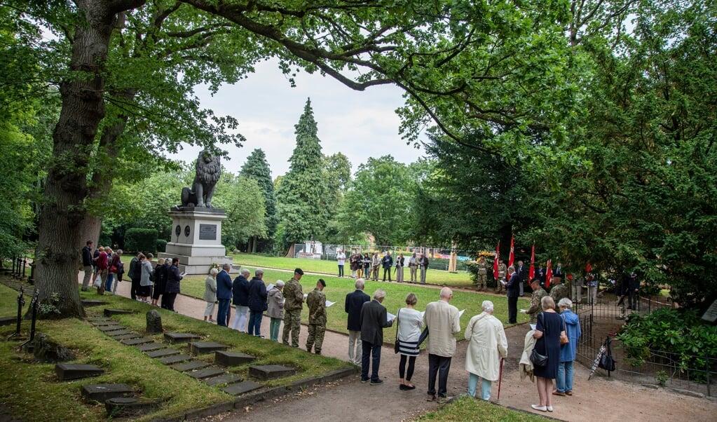 Hvert år mindes slaget ved Isted på Flensborg Gamle Kirkegård.     (Tim Riediger)