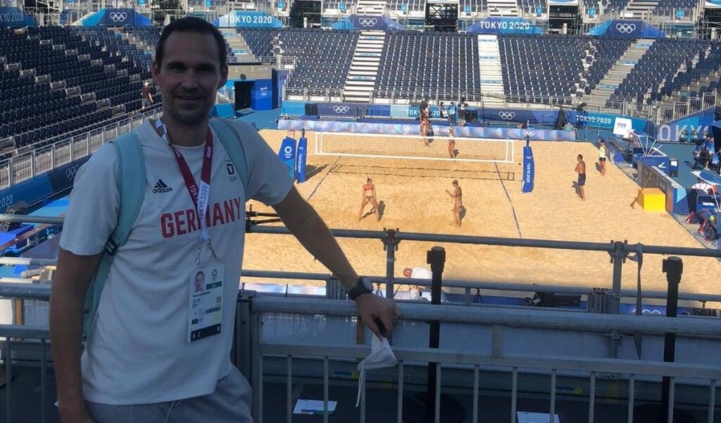 Niclas Hildebrand holt als Funktionär nach, was ihm als Aktiver nicht gelang: die Teilnahme an den Olympischen Spielen.  (Privatfoto)