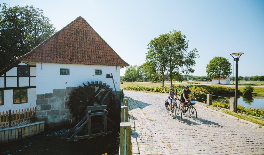 Der vil møde cyklende forskellige landskaber og oplevelser på den 307 kilometer lange rute rundt i grænselandet.   (Destination Sønderjylland)