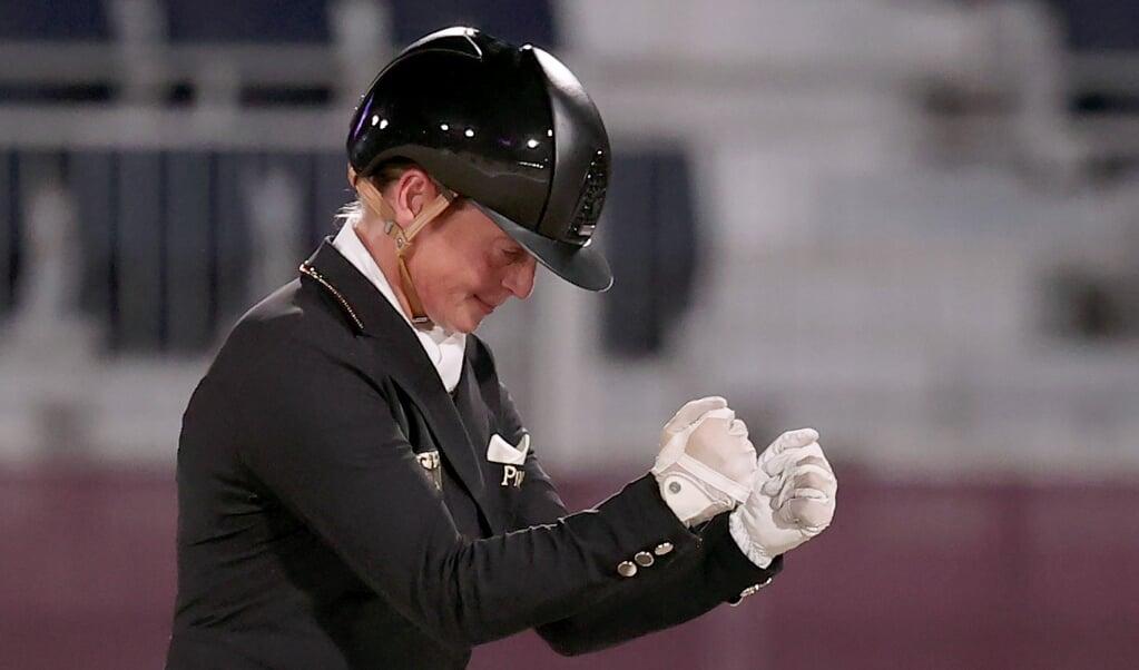 Isabell Werth und das deutsche Dressur-Team haben Gold geholt.  ( dpa)