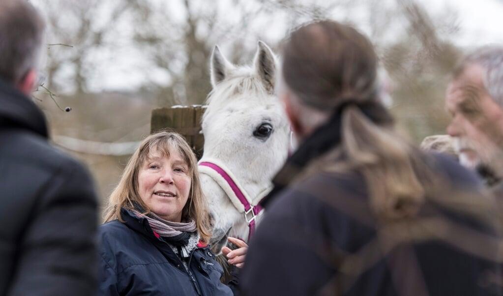 Petra Teegen, Leiterin der Pferdeklappe in Norderbrarup, hat einen Spendenaufruf für die Flutopfer in West-Deutschland gestartet. Archivfoto:  (Tim Riediger)