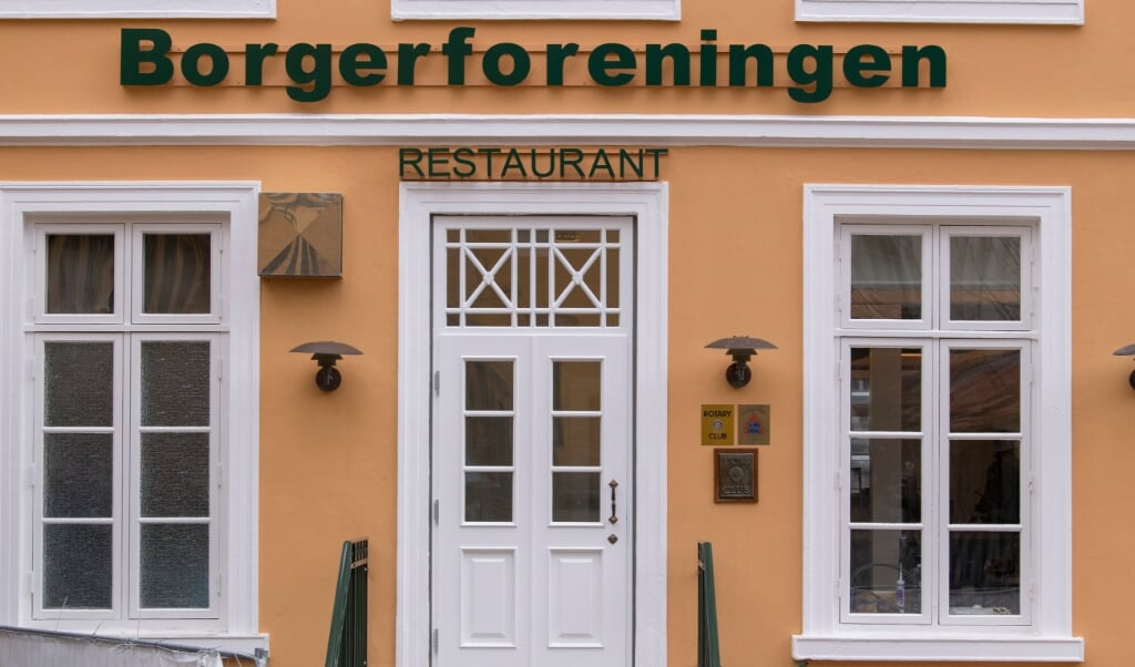 Valgdebatten finder sted på Restaurant Borgerforeningen i Flensborg.    (Martin Ziemer)