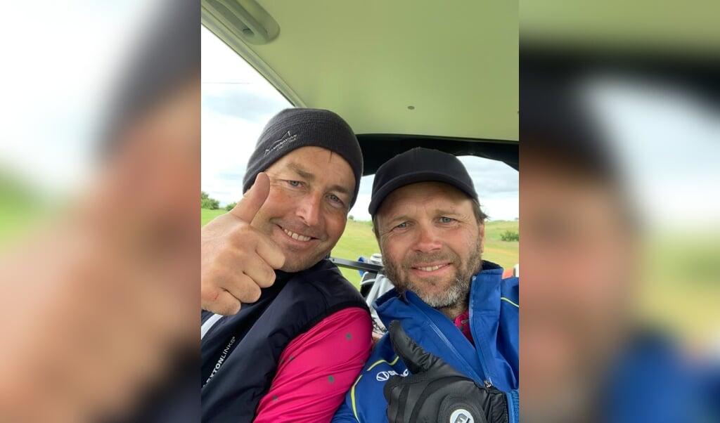 Kasper Hjulmand (t. v.) og Lars Christiansen er gode venner siden 30 år.  (Privatfoto)