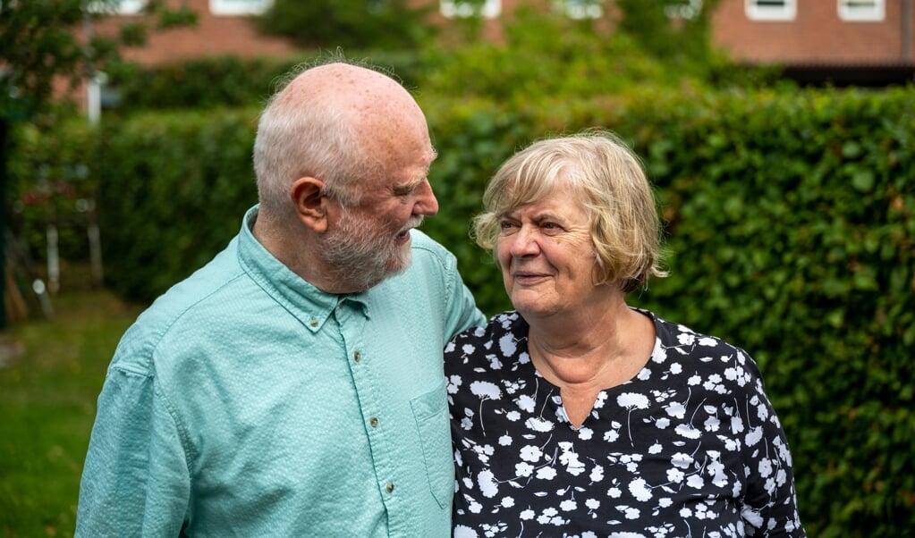 - Det er svært at definere, hvorfor vi aldrig har forladt Sydslesvig. Det handler om lyst, siger Anne-Margrete 'Ami' Jessen, der sammen med ægtemanden Leif Jessen fejrer 50-års bryllupsdag lørdag den 31. juli.   (Martin Ziemer)