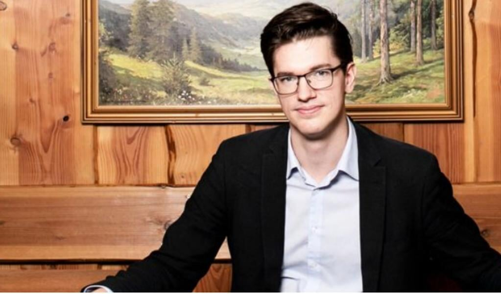 Thomas Schumann er vært på podcasten om Tyskland, som hedder Genau.   (Foo: Radio4)