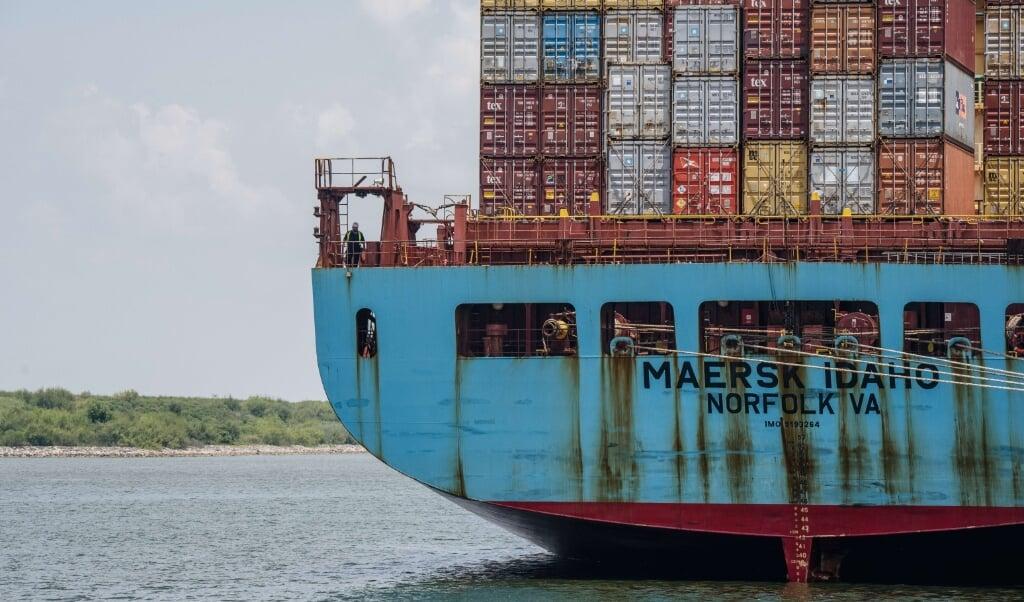 Mærsk er verdens største rederi. (Arkivfoto)  (Brandon Bell/Ritzau Scanpix)
