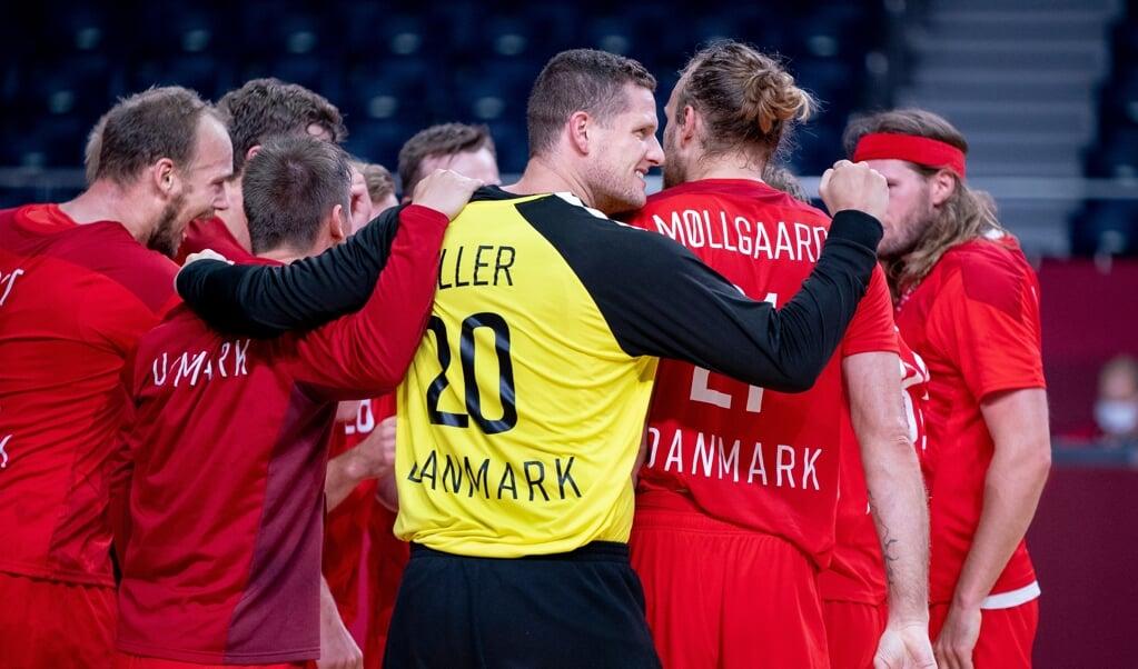 Kevin Møller og Danmark vil hente guld.  ( Scanpix/Liselotte Sabroe)