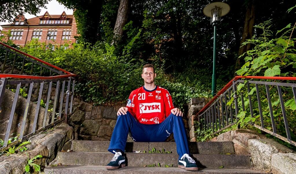 Unser Titelheld in diesem Jahr: Kevin Møller.  ( Lars Salomonsen)