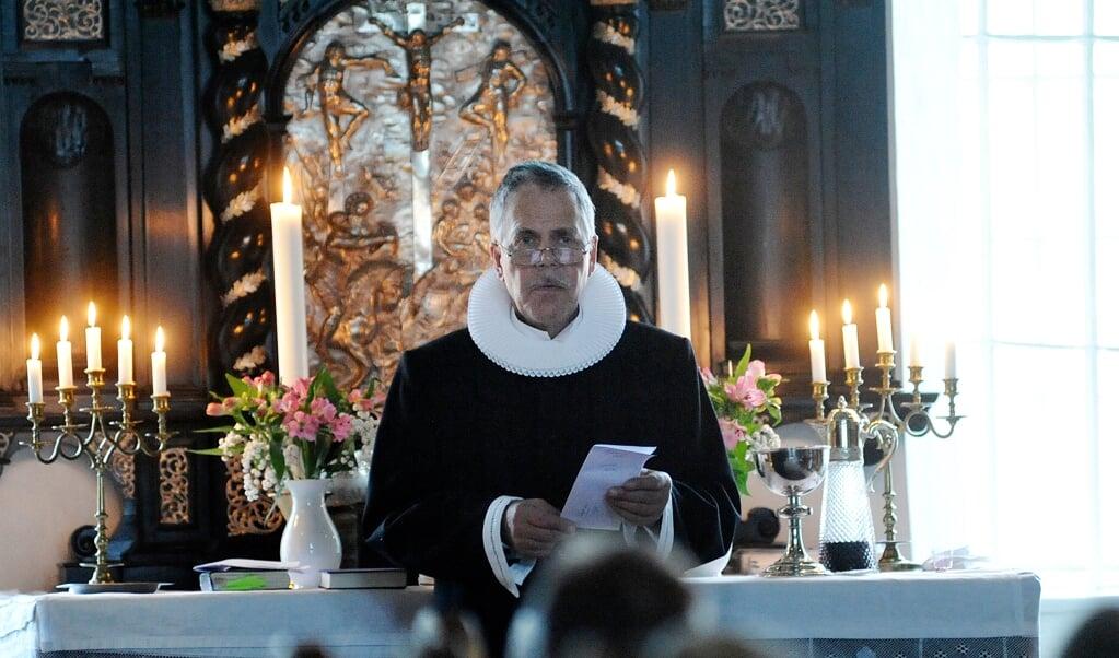 Niels Henrik Olesen blev ansat som præst i Slesvig i november 2016.  (Arkivfoto: Martina Metzger)