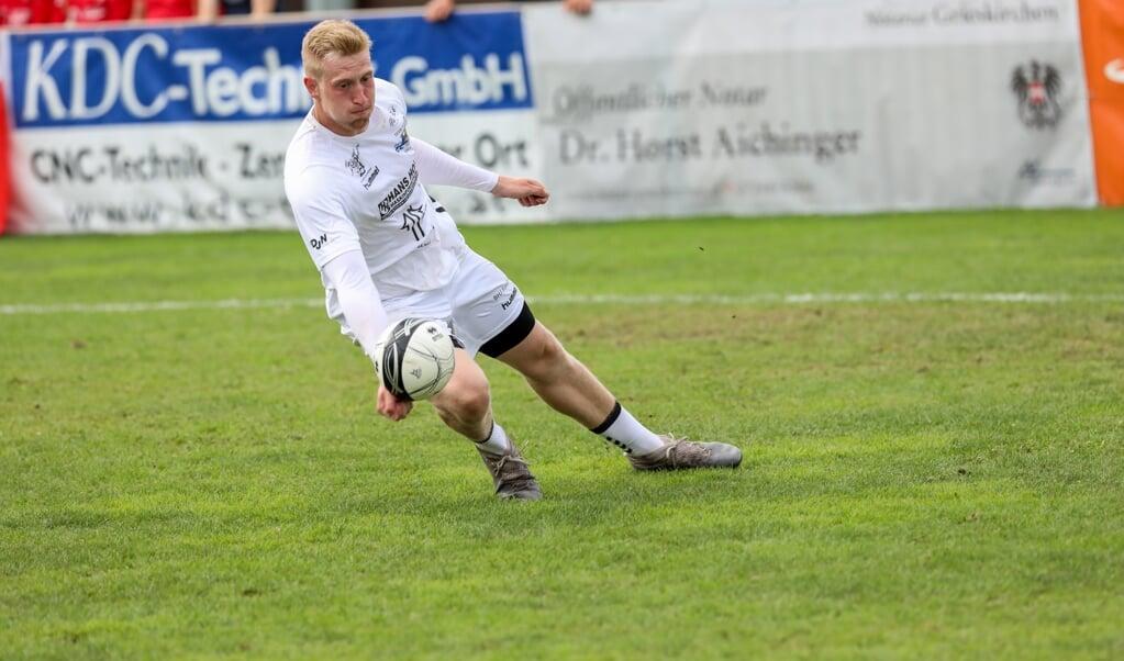 U18 herrernes anfører Rune Hinrichsen fik lært en masse til VM.  ( Erwin Pils/IFA)