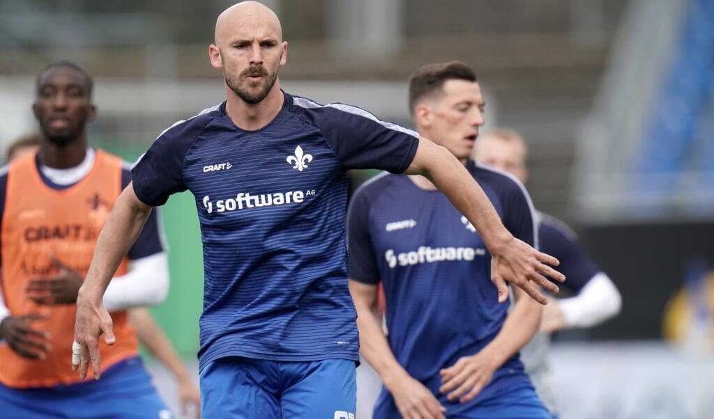 Patrick Herrmann wird fortan das Trikot des SC Weiche Flensburg 08 in der Regionalliga Nord tragen.  ( dpa)