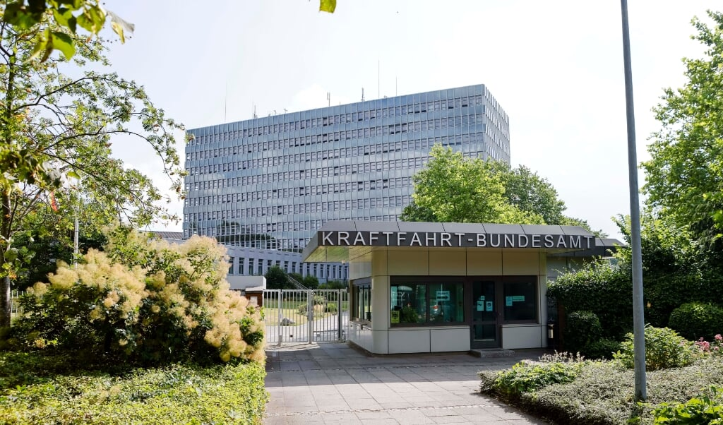 Kraftfahrt-Bundesamt har holdt til i Flensborg siden 1952.    (Frank Molter/dpa)