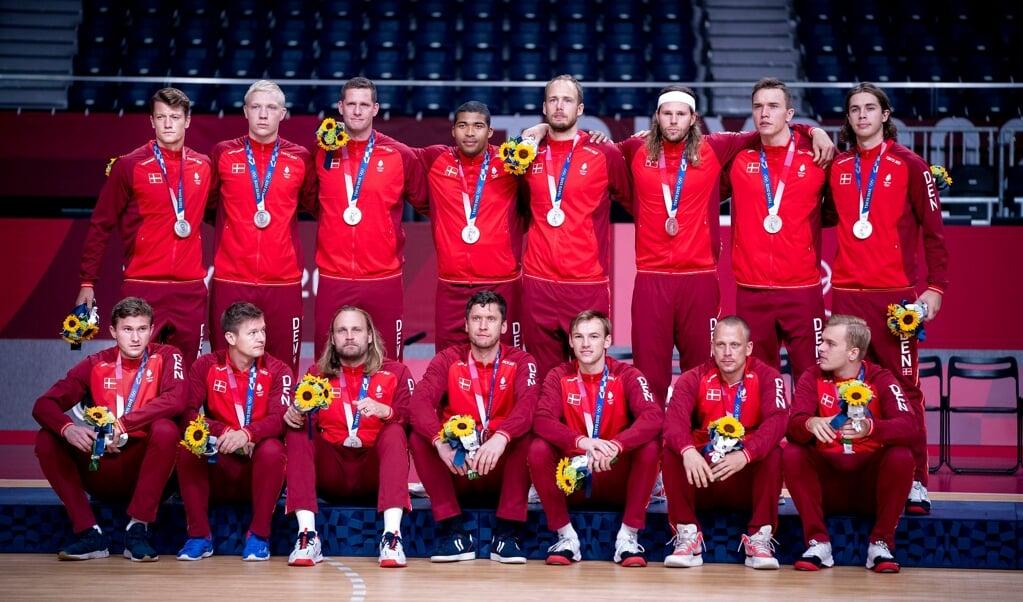 Danmark tog OL-sølv.  ( Scanpix/Liselotte Sabroe)