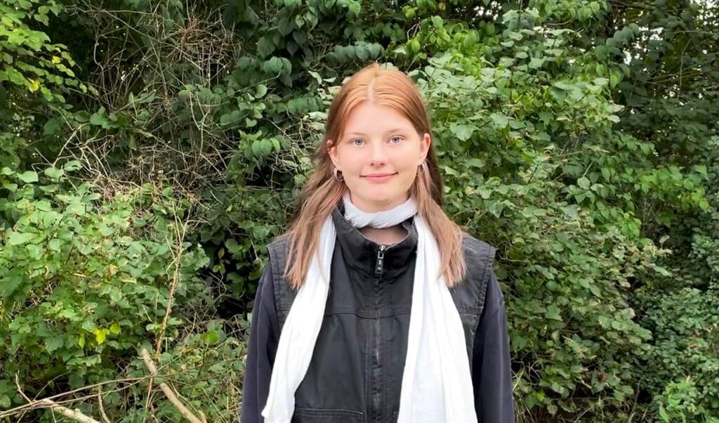 18-årige Zoé Jakobsen Grube har været nervøs og spændt op til sit første forbundsdagsvalg som stemmeberettiget.  (Privatfoto)