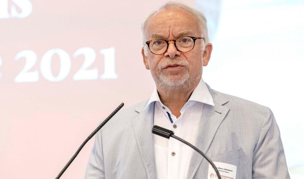 Grænseforeninges formand siden 2020, Peter Skov-Jakobsen, mener, at mindretallet er for lukket.    (Lars Salomonsen)