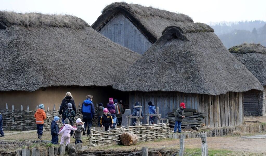 Das Freigelände des Wikingerdorfes gehört zu den wichtigsten und populärsten Elementen des »Wikinger Museum Haithabu«, dessen Leitung nach 30 Jahren von Ute Drews auf Matthias Toplak übergeht.  (Archivfoto: Carsten Rehder, dpa)
