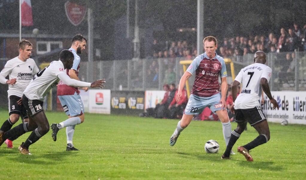 Patrick Thomsen konnte den zweiten Treffer des SC Weiche Flensburg 08 erzielen.  (Freelance 3)