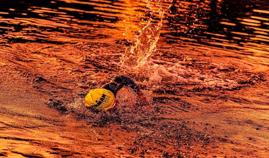 Anfangs konnte Victoria Best nicht wirklich gut schwimmen und ging lange Zeit nicht zum Training.  (Fotos: Lars Salomonsen)