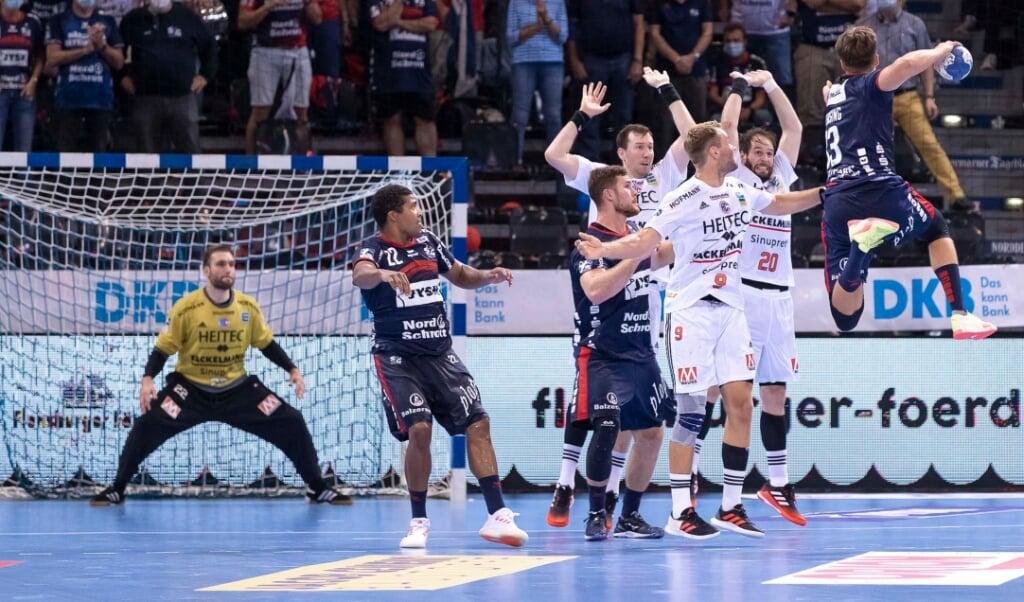 Wie schwer der HC Erlangen zu bespielen ist, musste die SG gerade erst in der Bundesliga erfahren.  ( Lars Salomonsen.)