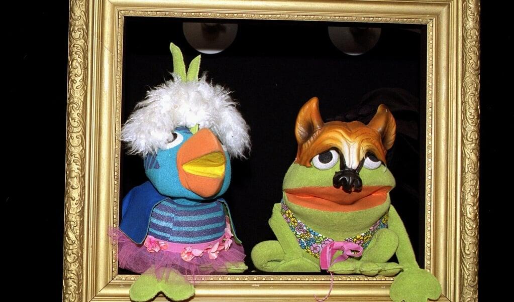 Frøen Kaj og papegøjen Andrea vender tilbage på skærmen fra den 3. september, oplyser DR.  (Arkivfoto: Bent K Rasmussen, Ritzau Scanpix)