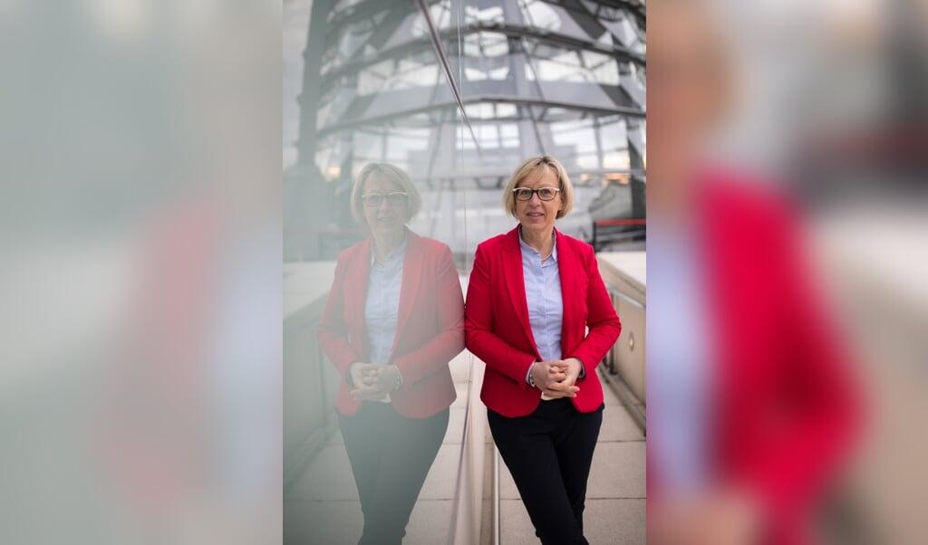 Petra Nicolaisen har været i politik i 28 år, siden 2017 som medlem af Forbundsdagen for CDU. Hun fortæller, at hvis man ønsker politisk indflydelse i Berlin, kræver det stædighed og hårdt arbejde.   (Deutscher Bundestag/Achim Melde)