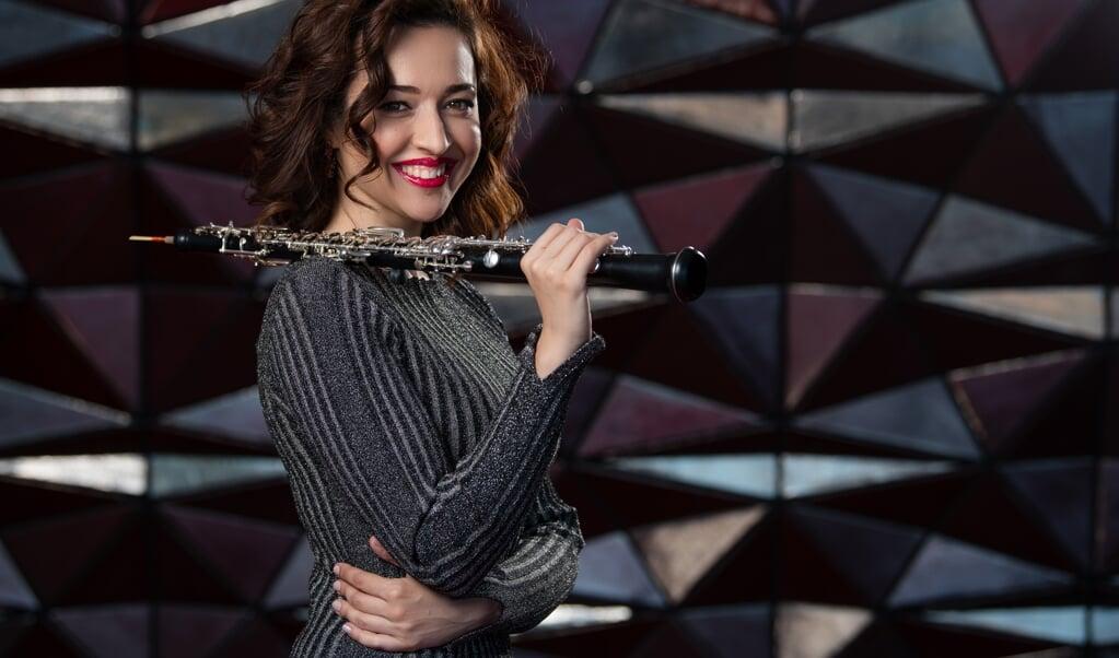 Simona Sindrestean er solist i Strauss' Obokoncert, når Sønderjyllands Symfoniorkester den 23. september spiller i Flensborg.    (Patricio Soto)