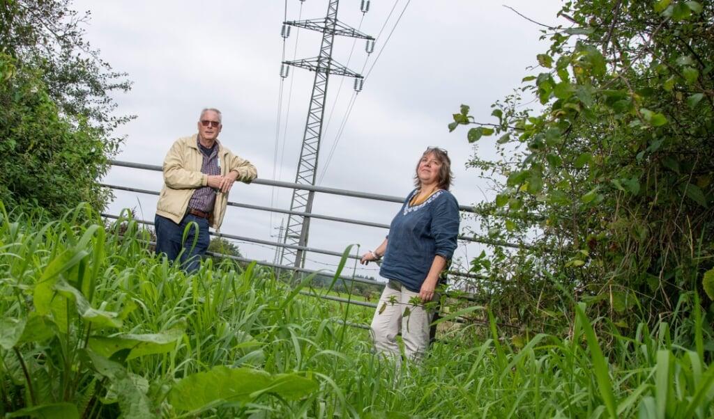 Glenn Dierking og Karin Haug fra SSW vil gerne have en væksthus, som kan samle mange forskellige mindre virksomheder. De finder det dog slemt, at Flensborg mister grønne områder.    (Tim Riediger)