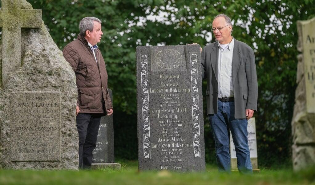 Nico Kjergaard (t.v.) og Arne Gerundt er spændt på, om der bliver stor interesse for arrangementet på lørdag.   (Sven Geißler)
