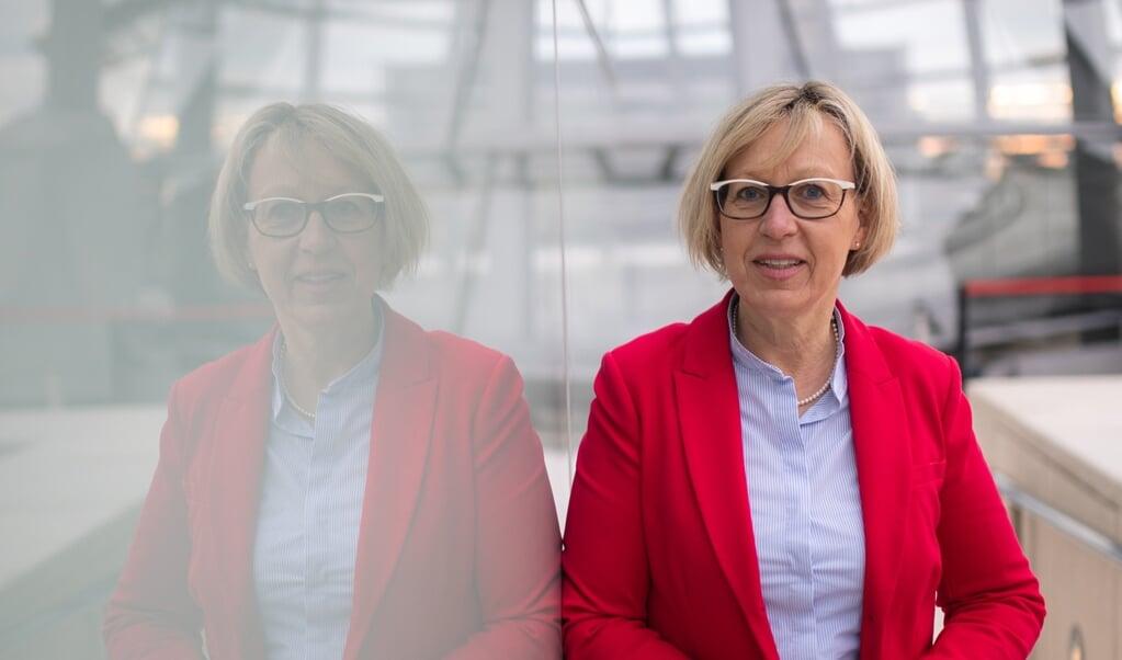 Parlamentsmedlemmer lider under et massivt arbejdspres, siger Petra Nicolaisen (CDU).   ( Deutscher Bundestag/Achim Melde)