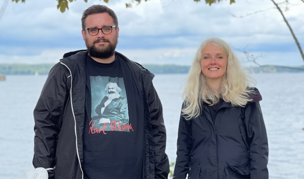 Weiter ein Tandem an der Linken-Spitze: Katrine Hoop und Luca Grimminger.   (Nicolas Jähring)