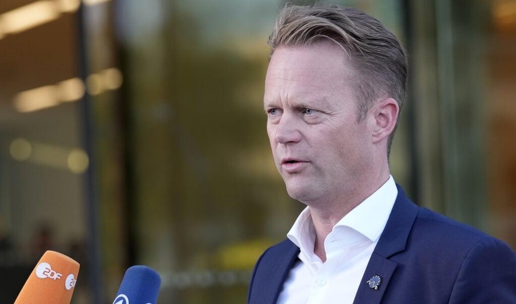 Danmarks udenrigsminister Jeppe Kofod (S) oplyser, at 20 personer er blevet evakueret fra Afghanistan ad landvejen. (Arkivfoto)  (Darko Bandic/Ritzau Scanpix)